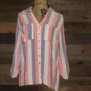Ruby Road Striped button down